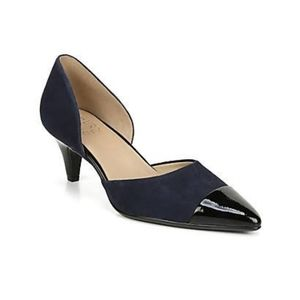 """NWOB - Naturalizer """"Barb"""" pump in inky navy"""